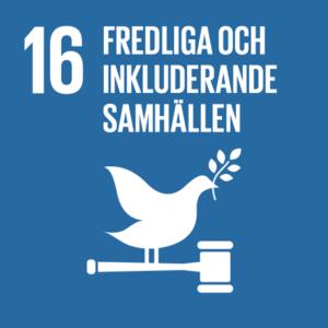 16. Fredliga och inkluderande samhällen