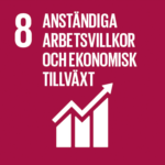 8. Anständiga arbetsvillkor och ekonomisk tillväxt