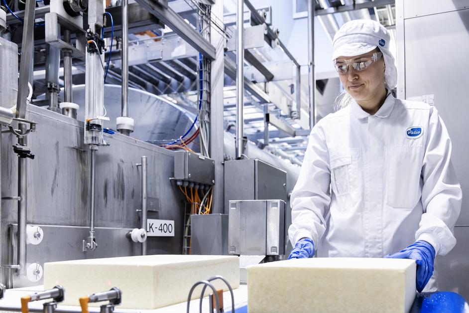 Ostproduktion i Valios fabriker.